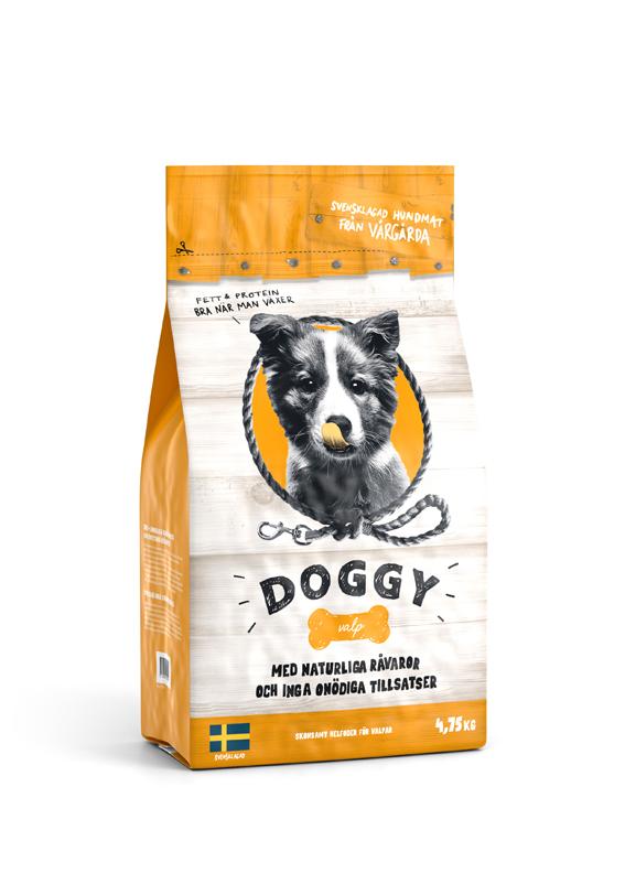 Torrfoder för Hundvalp - 4,75 kg