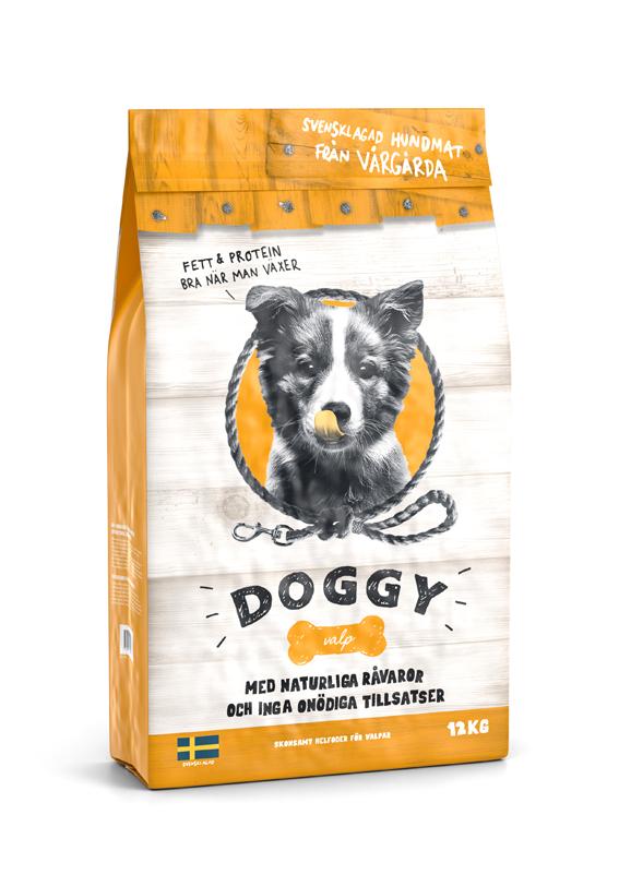 Torrfoder för Hundvalp - 12 kg