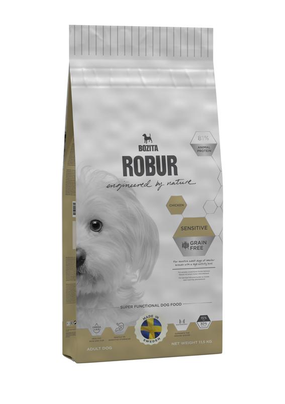 Sensitive Chicken spannmålsfritt foder för hund - 11,5 kg