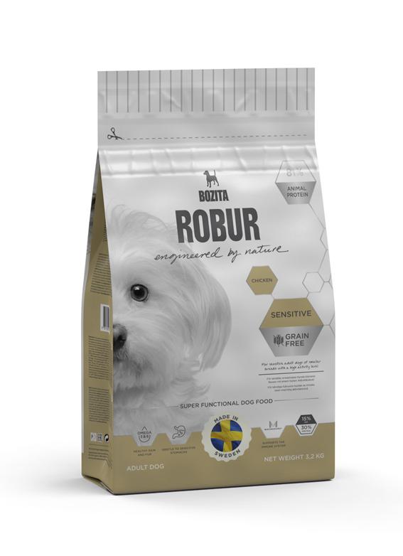 Sensitive Chicken spannmålsfritt foder för hund - 3,2 kg