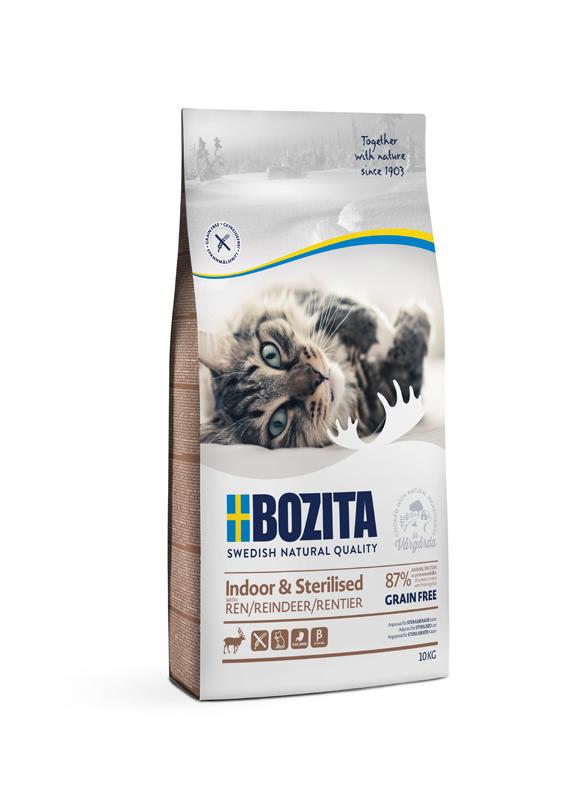 Indoor & Sterilised foder för katt - 10 kg