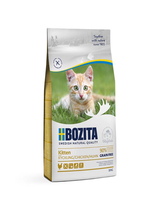 Kitten Chicken foder för kattunge - 10 kg