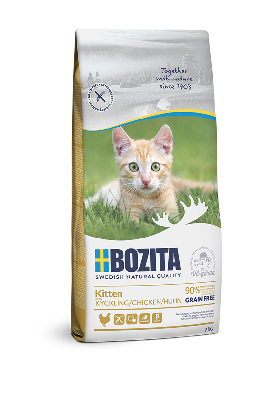 Kitten Chicken foder för kattunge - 2 kg