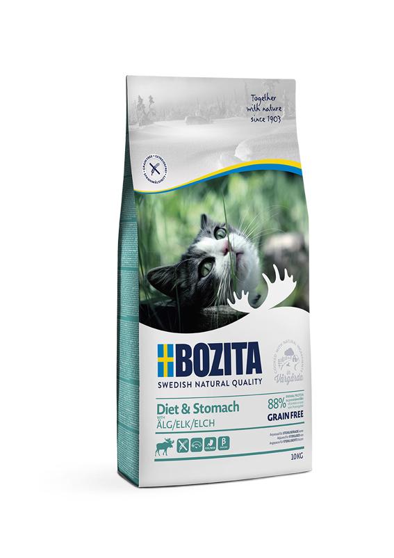 Diet & Stomach Spannmålsfritt foder för katt - 10 kg