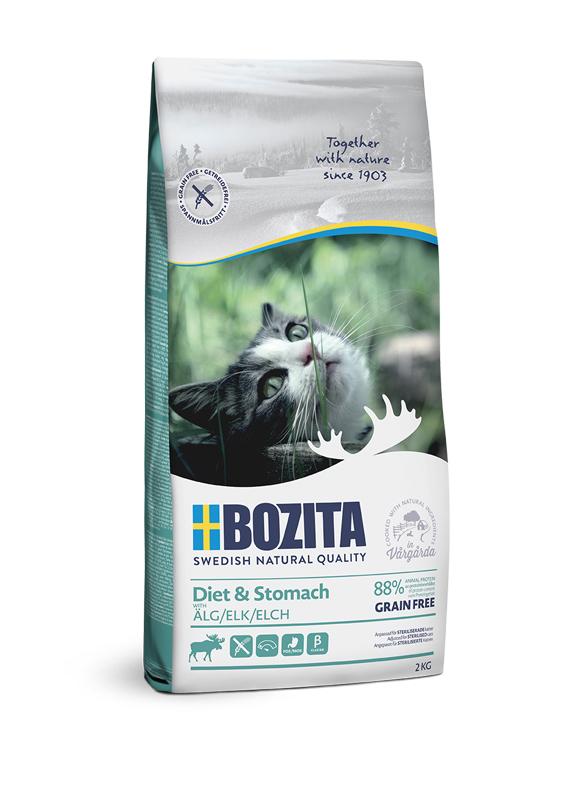 Diet & Stomach Spannmålsfritt foder för katt - 2 kg