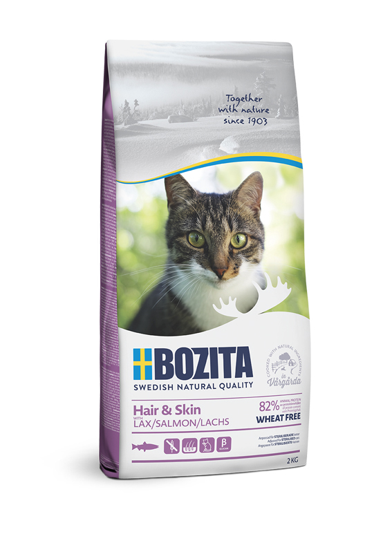 Hair & Skin Torrfoder för katt - 2 kg