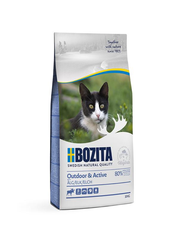 Outdoor & Active Torrfoder för katt - 10 kg
