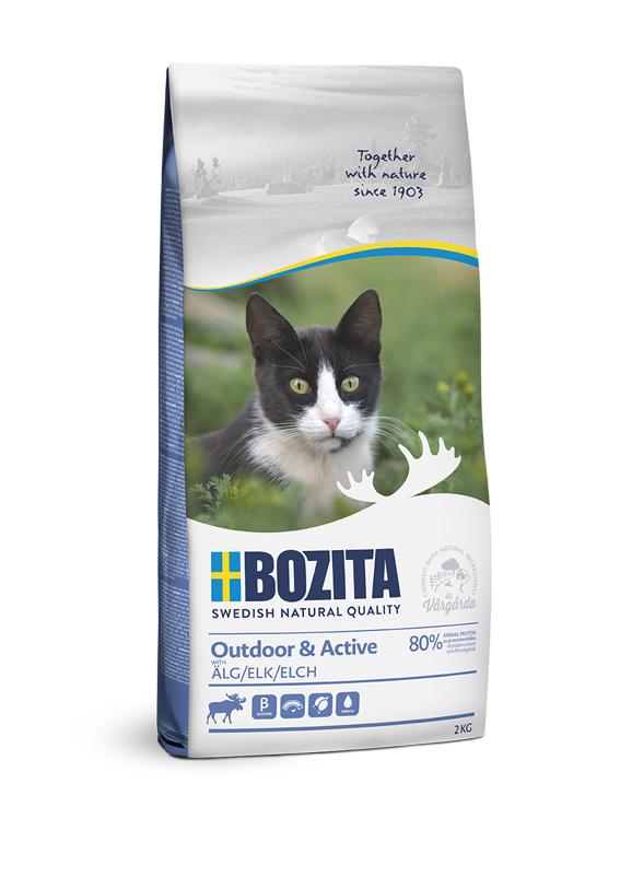 Outdoor & Active Torrfoder för katt - 2 kg