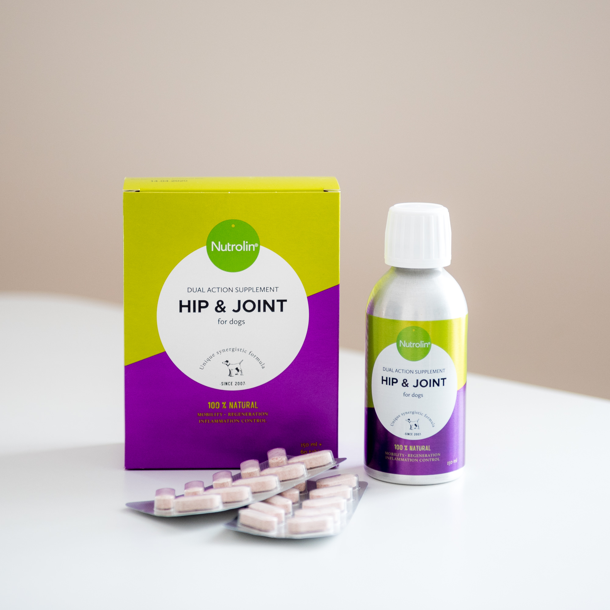 Nutrolin® Hip & Joint - 150 ml + 60 tabl