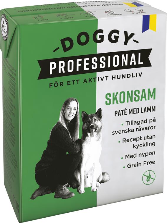 Professional Skonsam Paté med lamm för hund