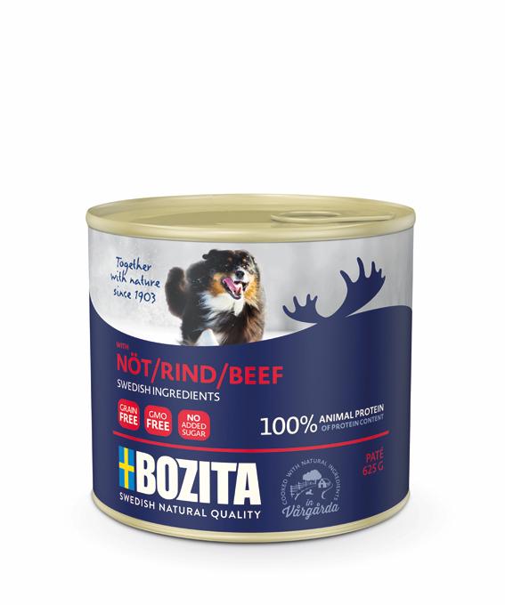 Nöt Paté för hund - 12 st x 675 g
