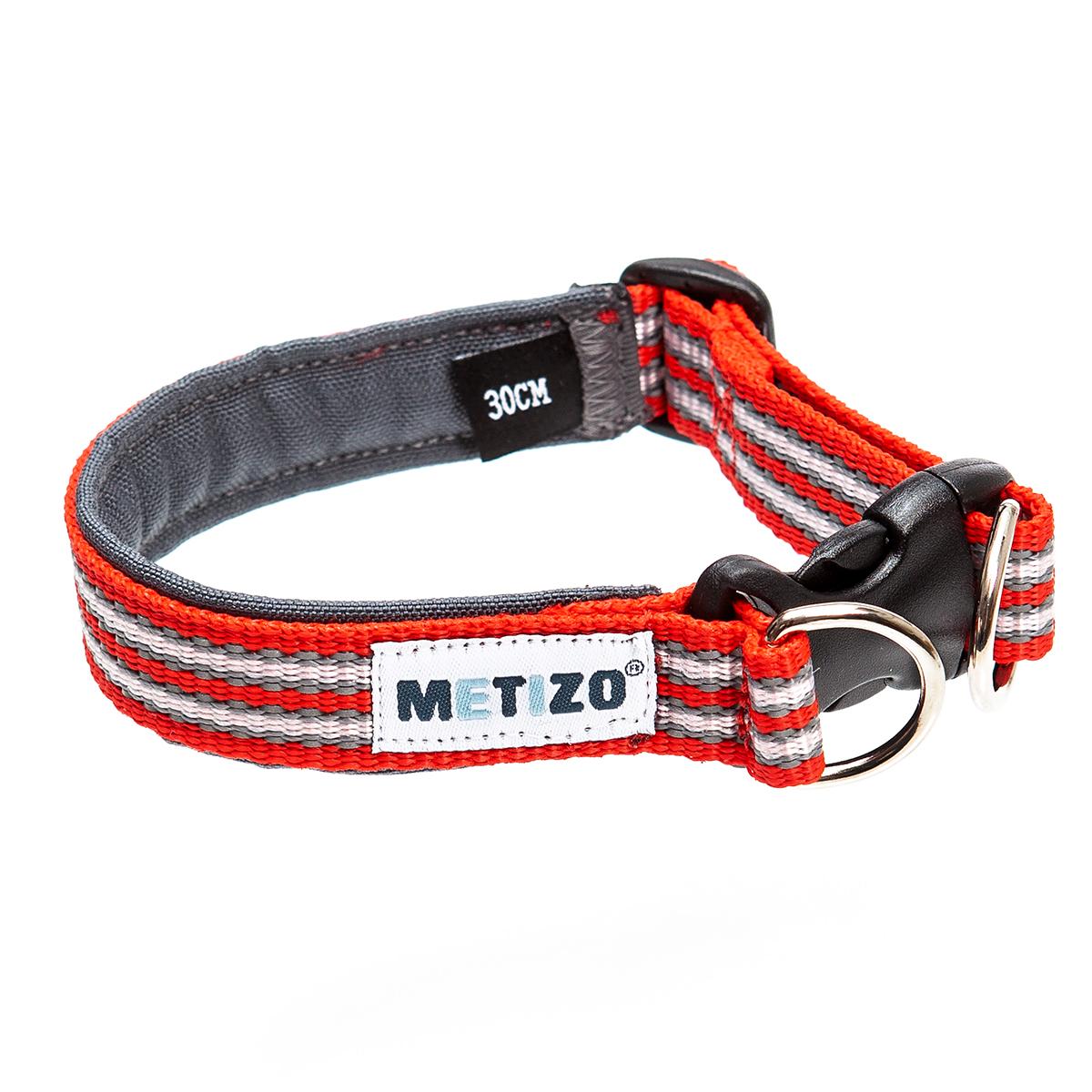 Halsband Fast - Röd 25 cm, Röd 30 cm, Röd 35 cm, Röd 40 cm