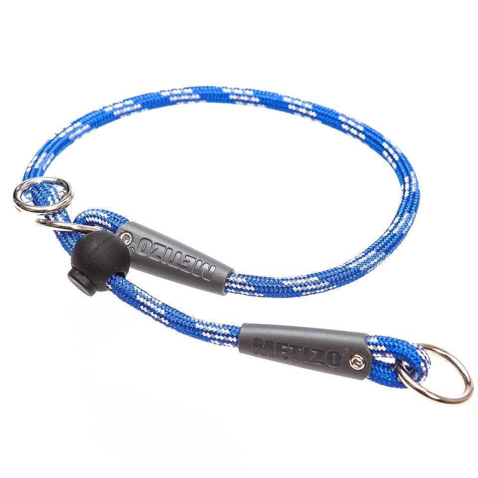 Retrieverhalsband Runt - Blå 40 cm, 50 cm Blå, Blå 60 cm