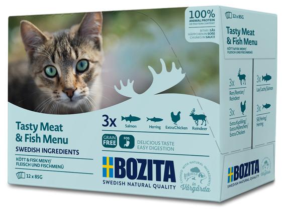 Multibox Kött & Fisk i sås för katt