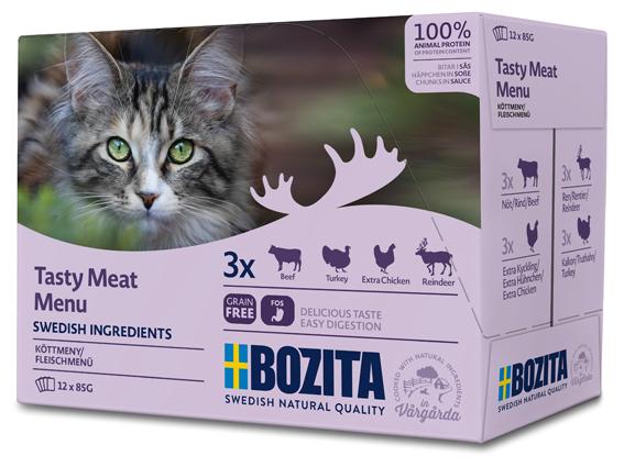 Multibox Kött i sås för katt