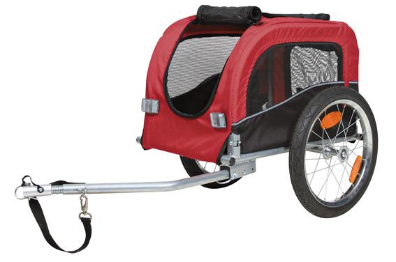 Cykelvagn Röd - Small