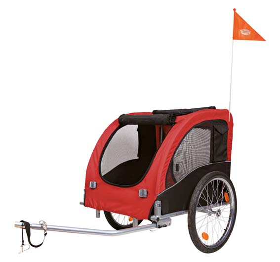 Cykelvagn Röd - Large