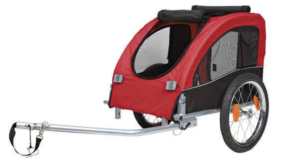 Cykelvagn Röd - Medium