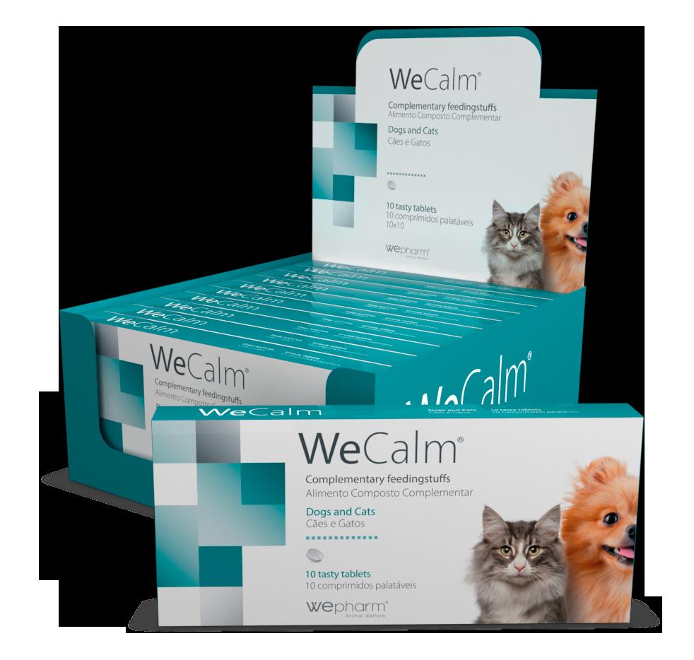WeCalm tuggtabletter för stress & oro - 10 tuggtabletter