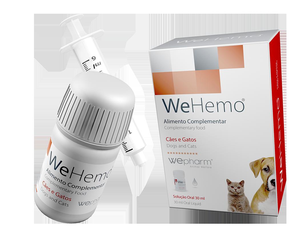 WeHemo oral lösning för hypokalemi & anemi