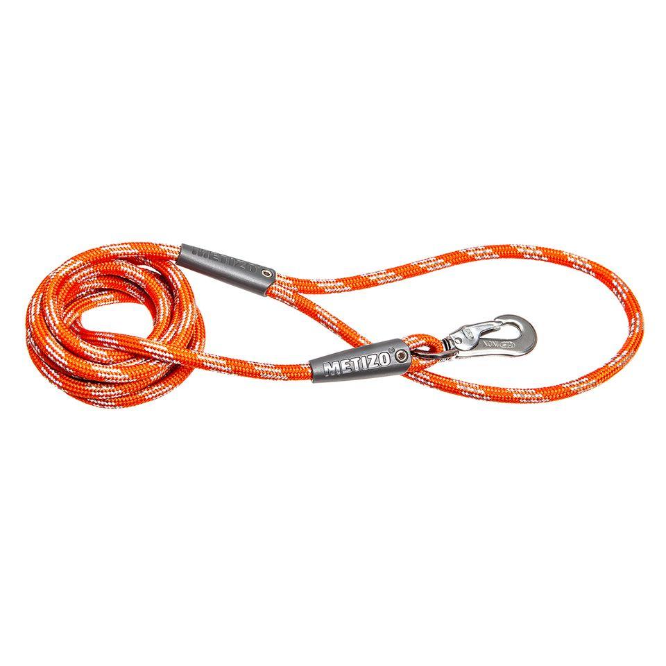 Koppel Runt m. Reflex - 180 cm Orange, 3 m, 55 mm hake Orange, 5 m, 55 mm hake Orange, Orange 5 m, 75 mm hake