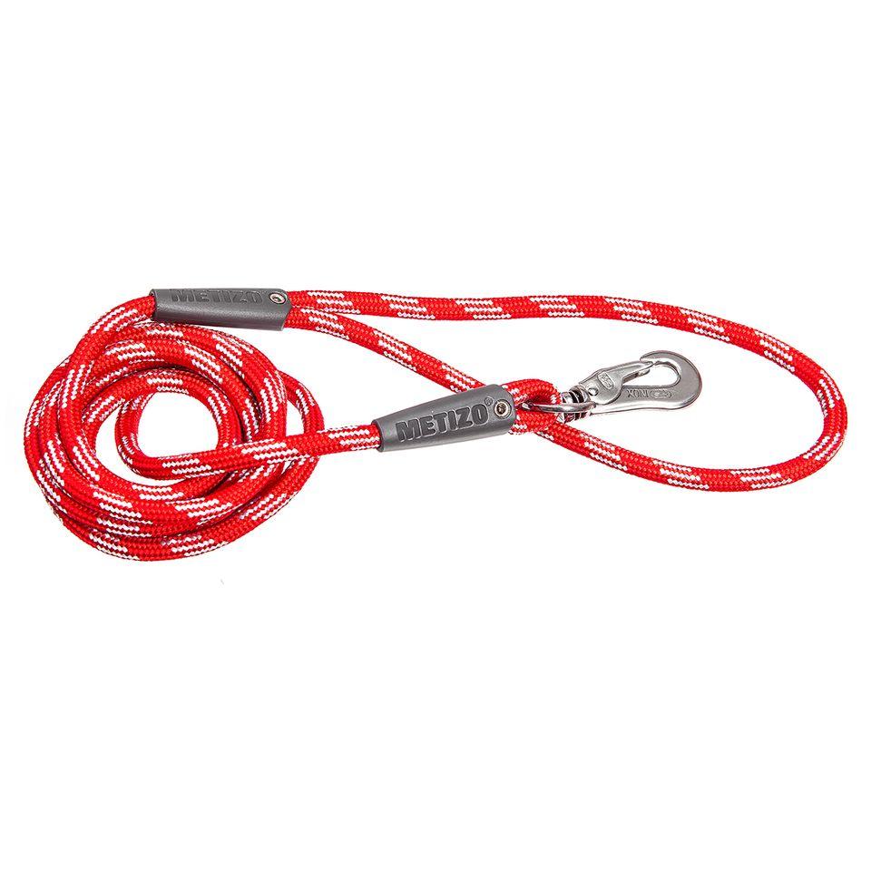Koppel Runt m. Reflex - 180 cm Röd, 3 m, 55 mm hake Röd, 5 m, 55 mm hake Röd, 5 m, 75 mm hake Röd
