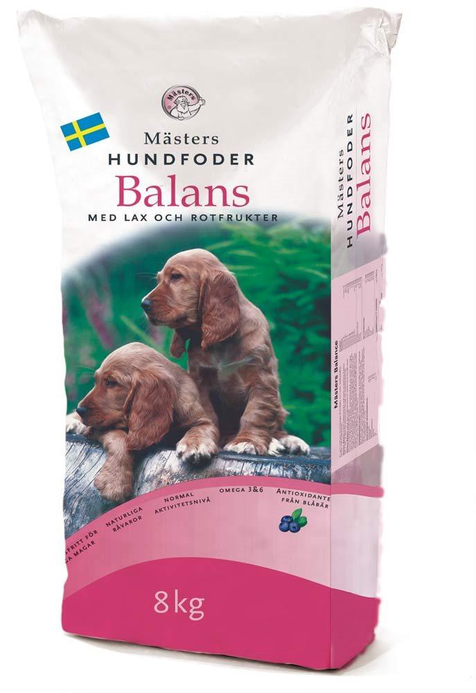Balans Lax & Rotfrukter Hundfoder