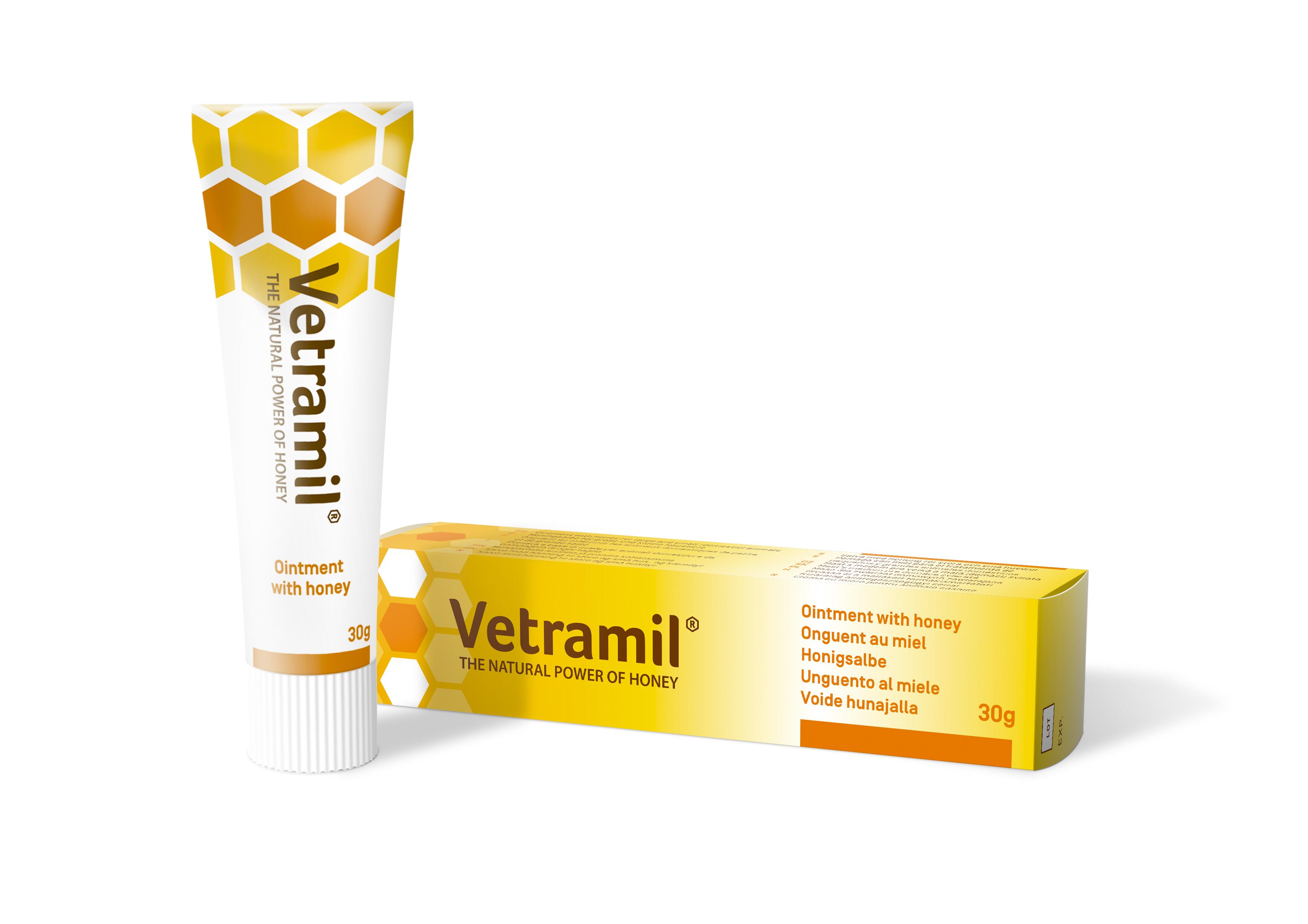 Vetramil Honungsalva - 30 g