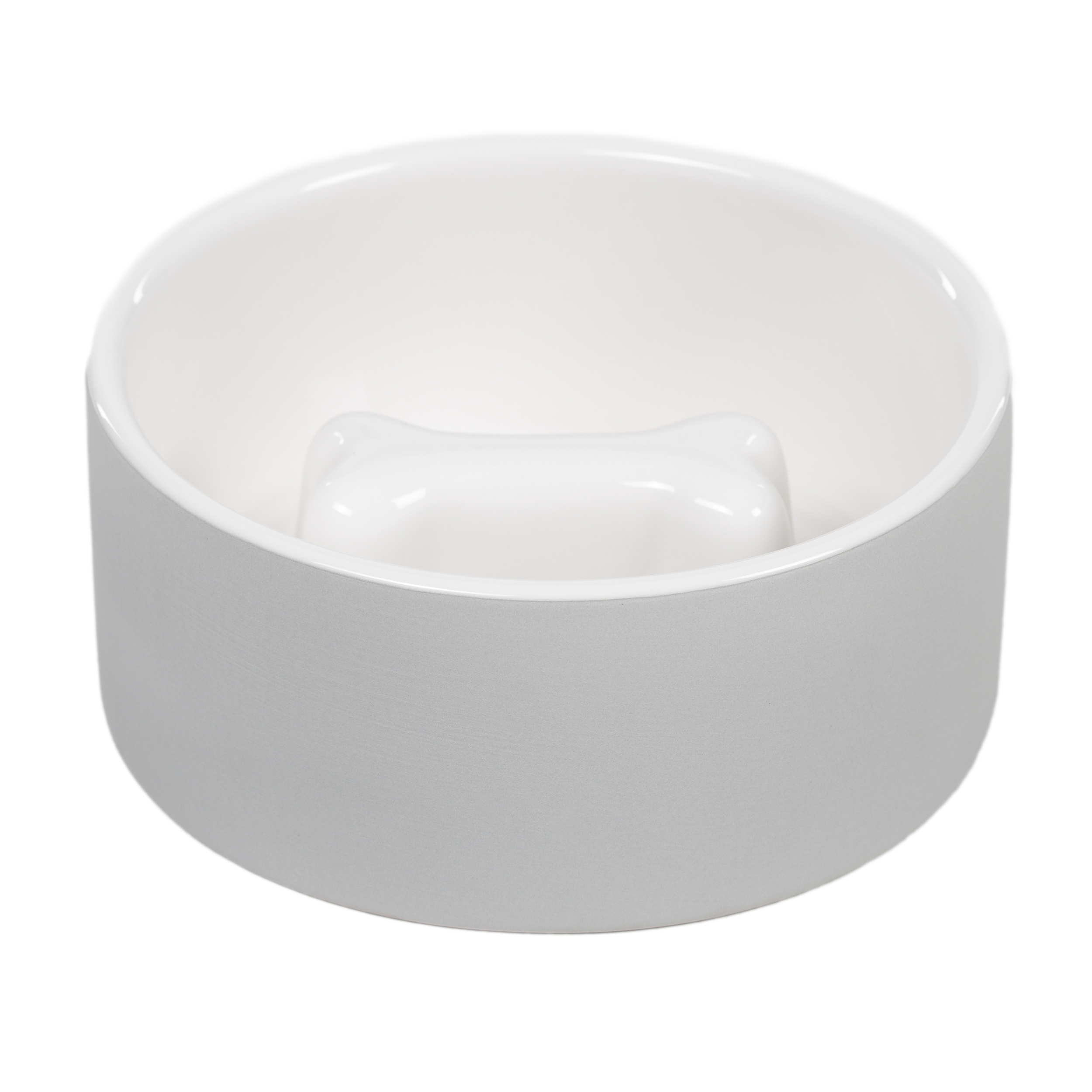 Cooling Bowl - M slow feed Grå