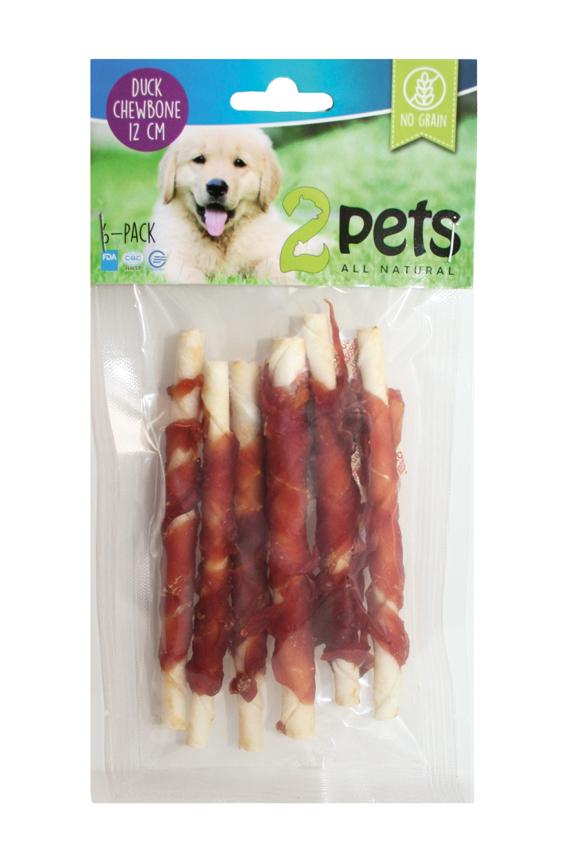 Tuggpinne med ankfilé för hund - X-Small