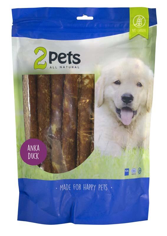 Tuggpinne med ankfilé för hund - XX-Large
