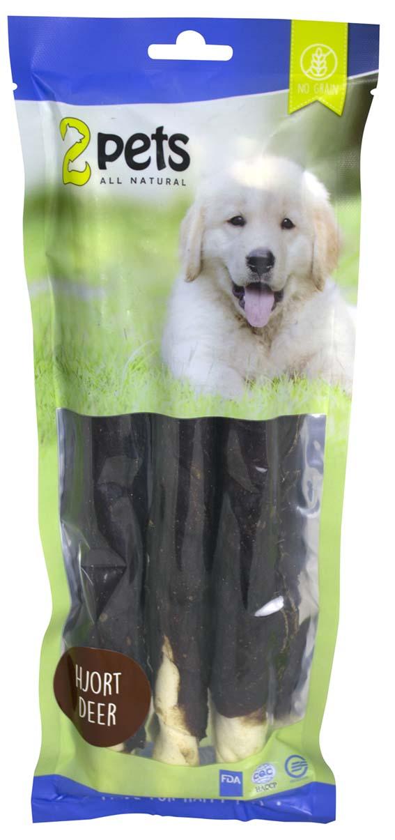 Tuggpinne med hjort för hund - X-Large