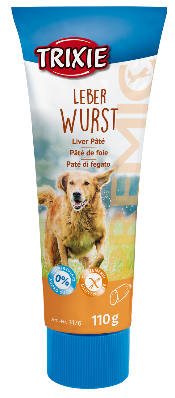 Leverpaté i tub för hund - Leverpaté 110 g