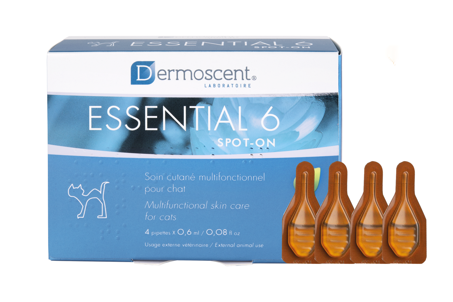 Essential 6® spot-on för katt