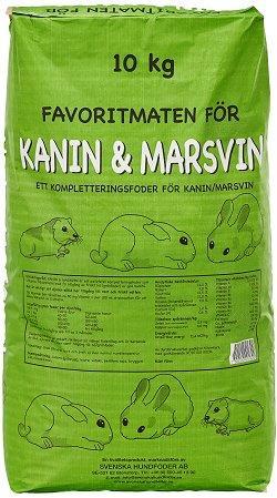 Kanin & Marsvinsfoder - 10 kg