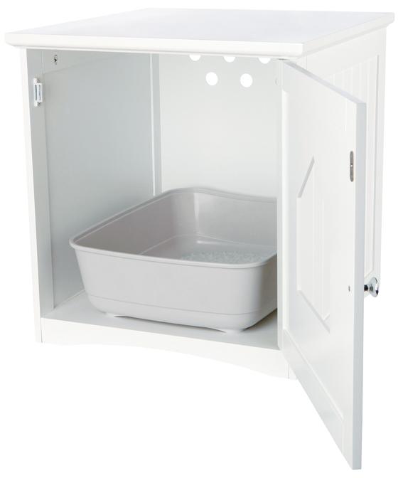 Toaletthus för kattlåda