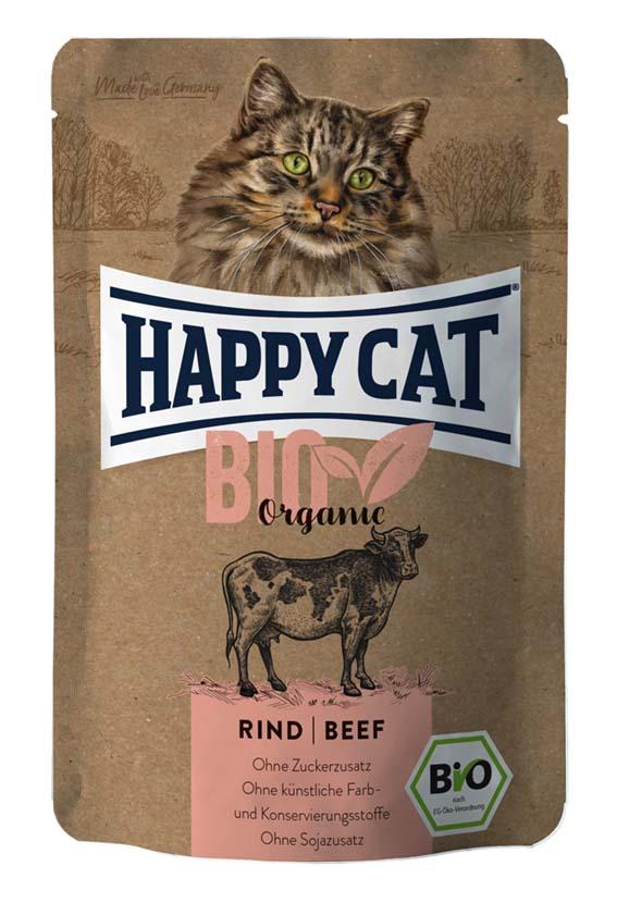 Bio Organic Nötkött, våtfoder katt