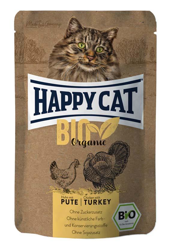 Bio Organic Kyckling & Kalkon, våtfoder katt