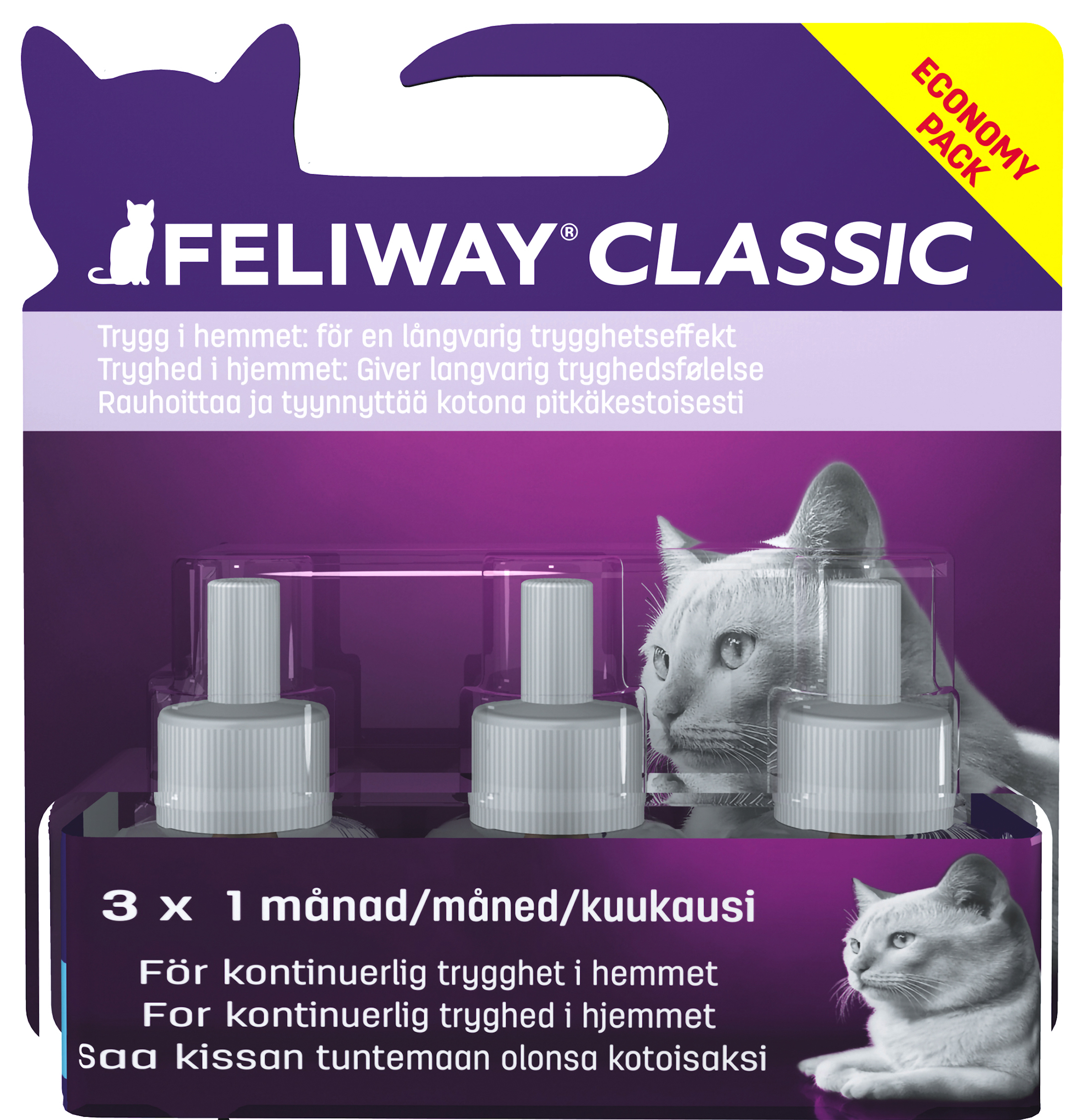 Feliway Classic Refill - 3 x 48 ml