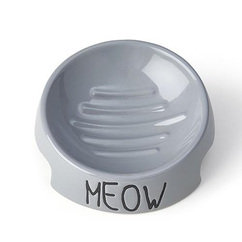 Meow Inverted Bowl - Grå