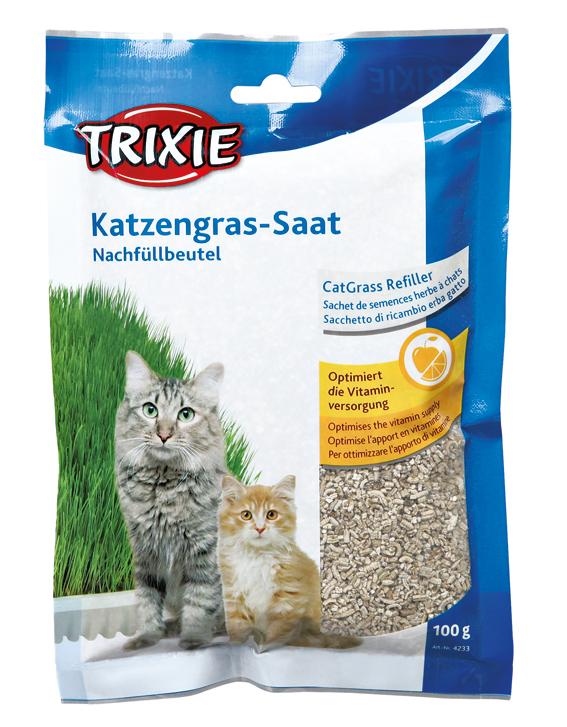 Kattgräs Refill Vitaminberikat