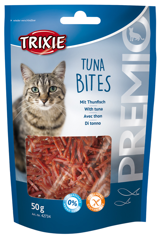 Premio Tuna Bites Kattgodis