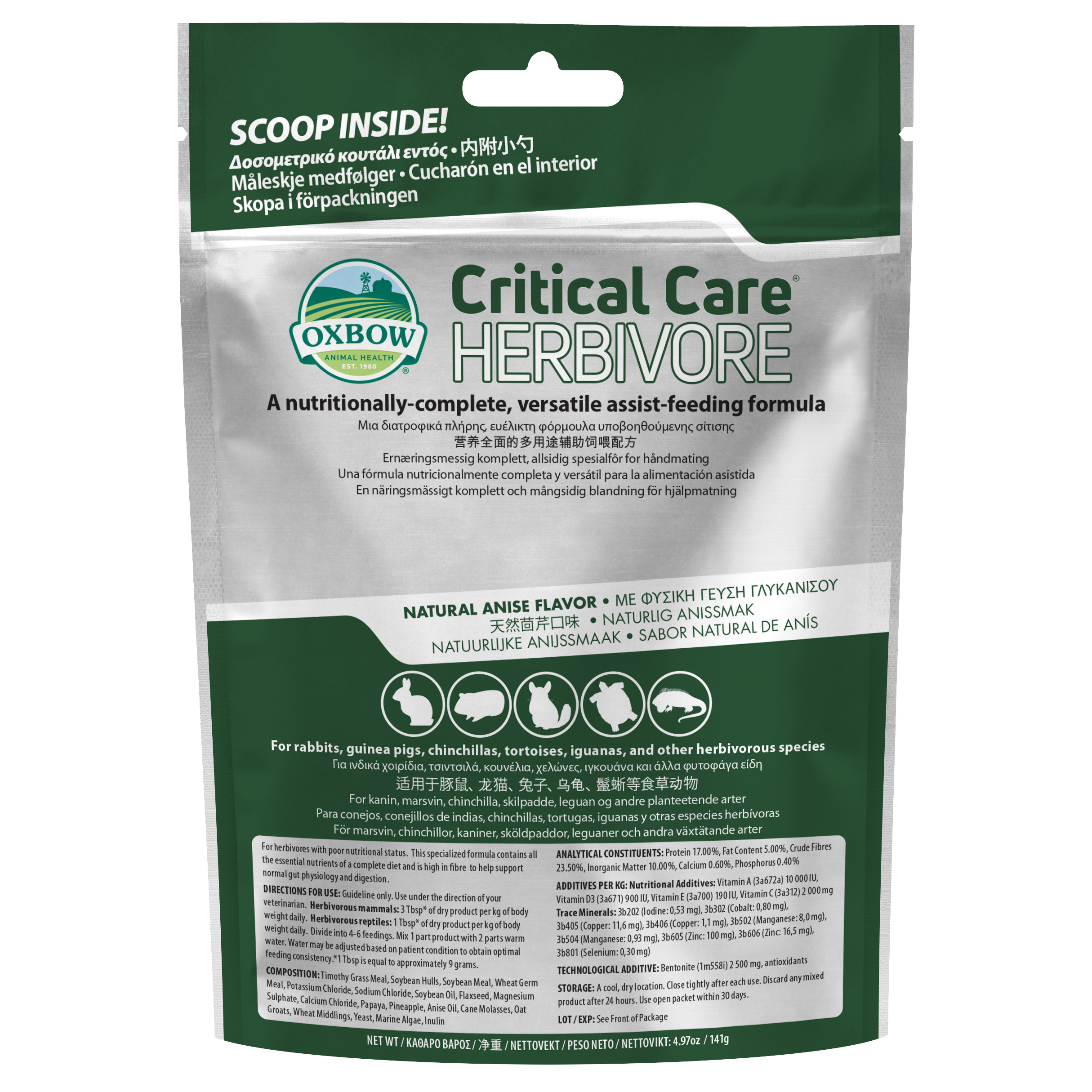 Critical Care Anis - 141 g