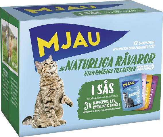Kött- & Fisksmaker i Sås Multipack