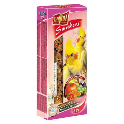 Smakers Parakit Tillskottsfoder - Frukt
