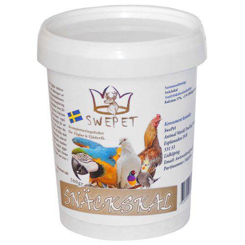 Snäckskal Mineraler för Fågel