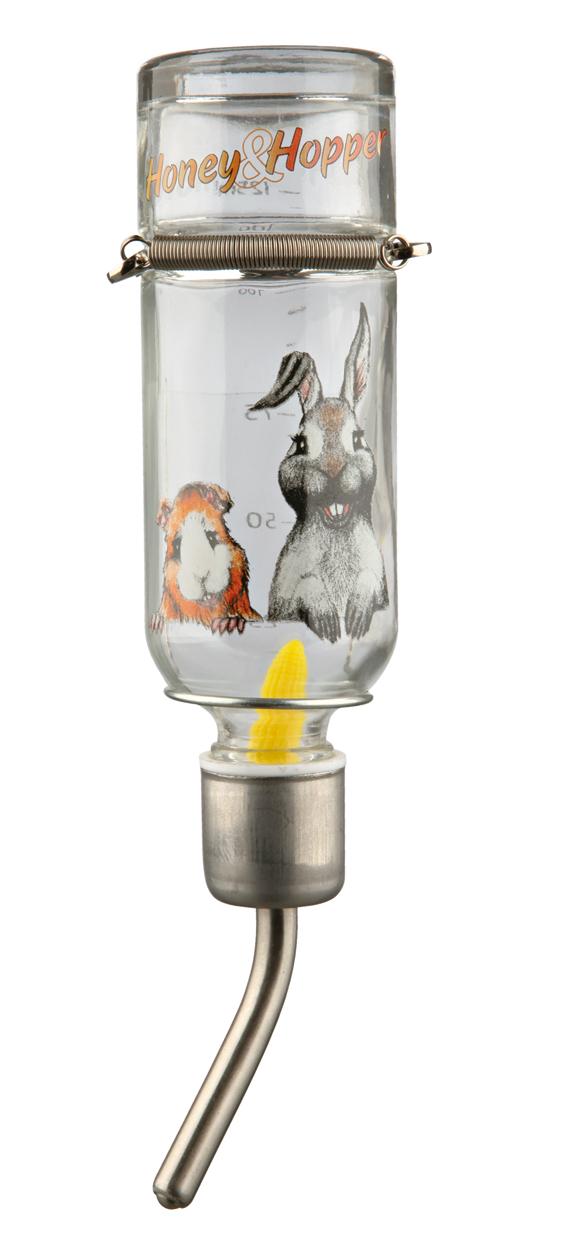 Honey & Hopper Vattenflaska Glas