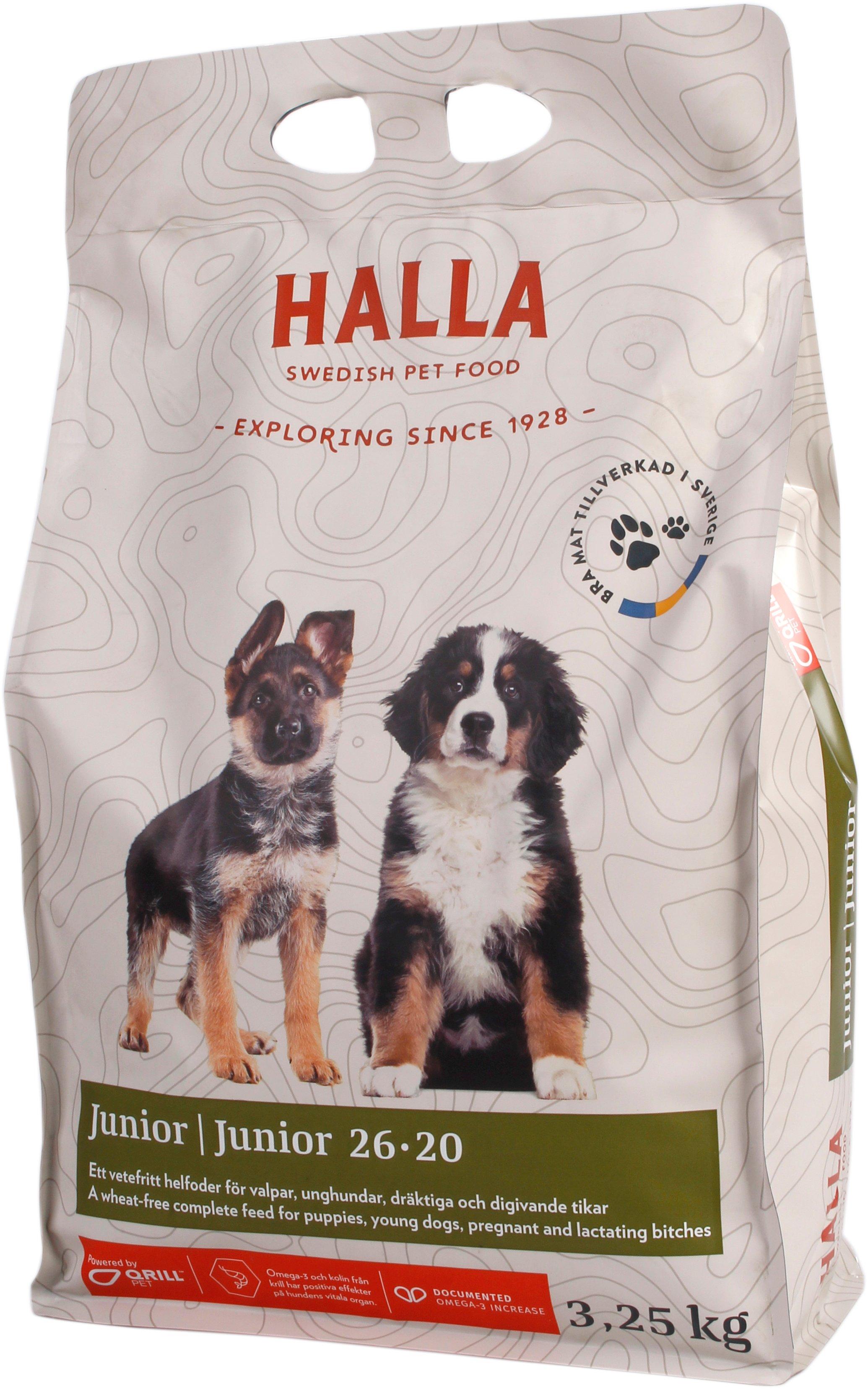 Hundfoder Junior - 3,25 kg
