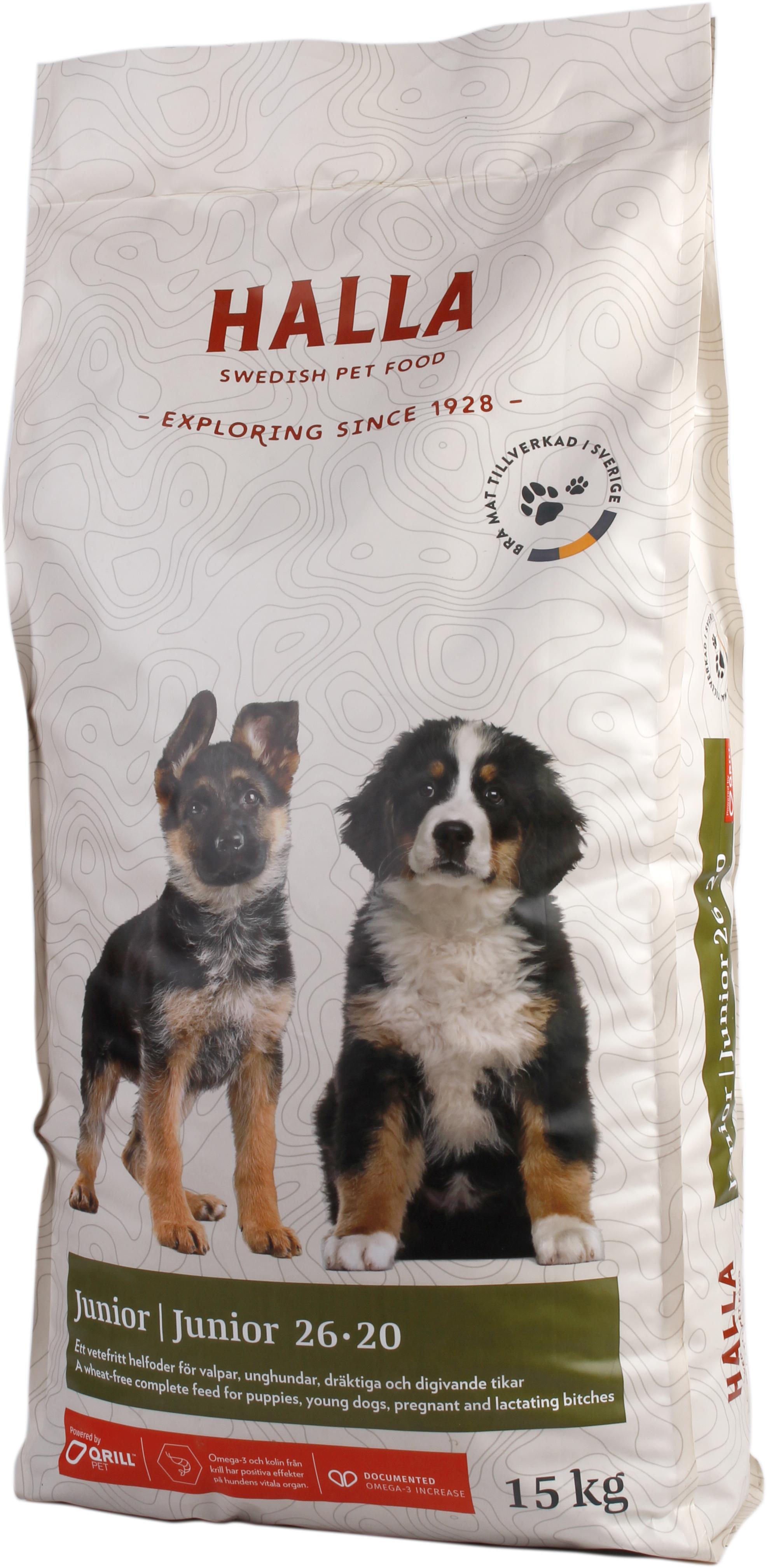 Hundfoder Junior - 15 kg