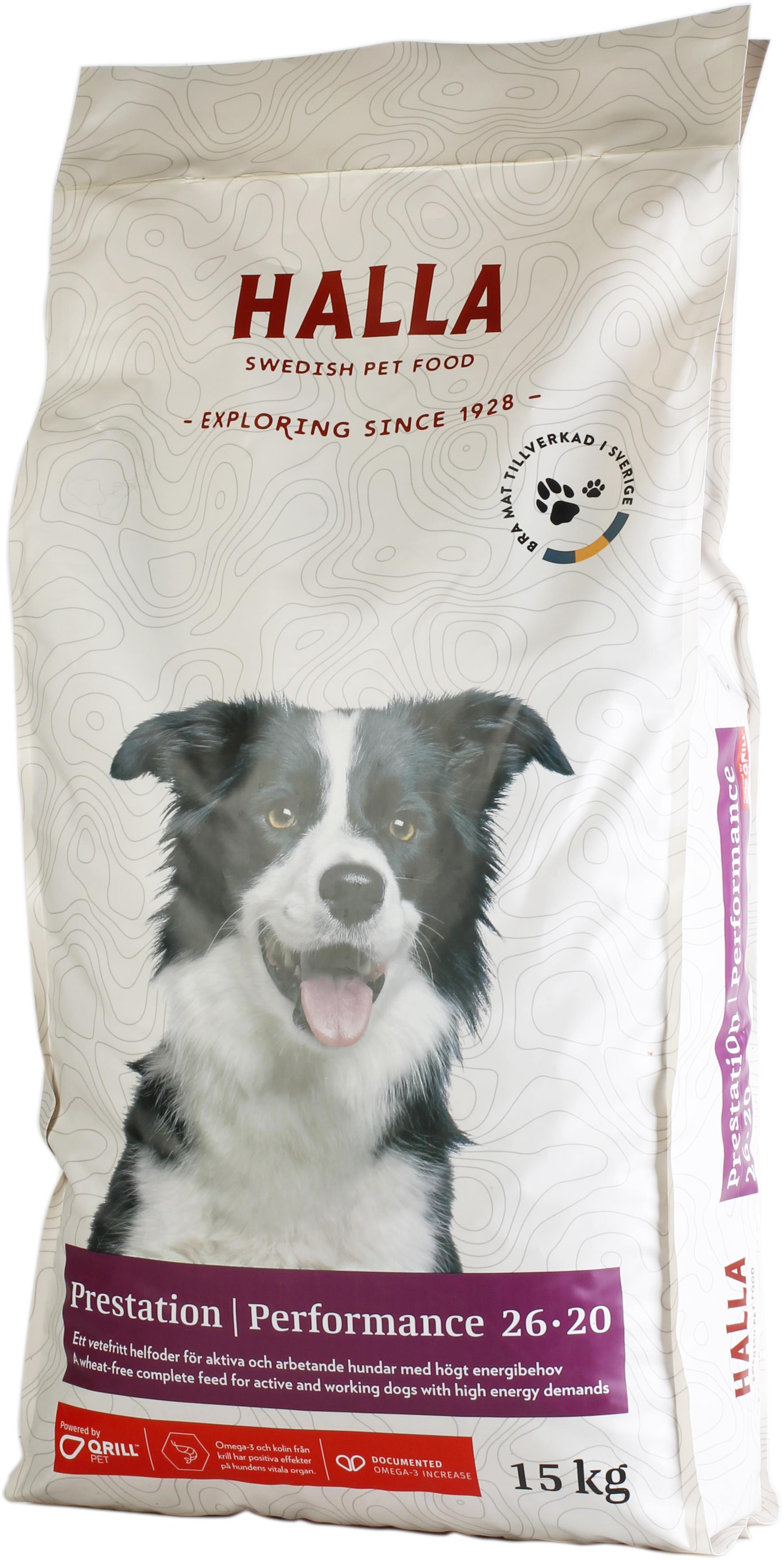 Hundfoder Performance - 15 kg